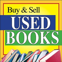 Buy and sell used books logo