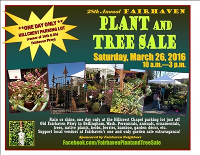 Fairhaven Neighbors Annual Plant & Tree Sale! | Village Books