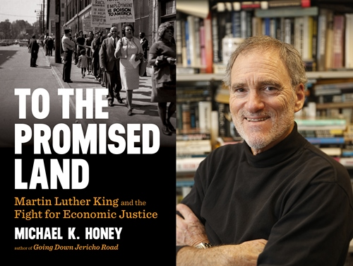 To the Promised Land about Martin Luther King Jr by Michael K Honey